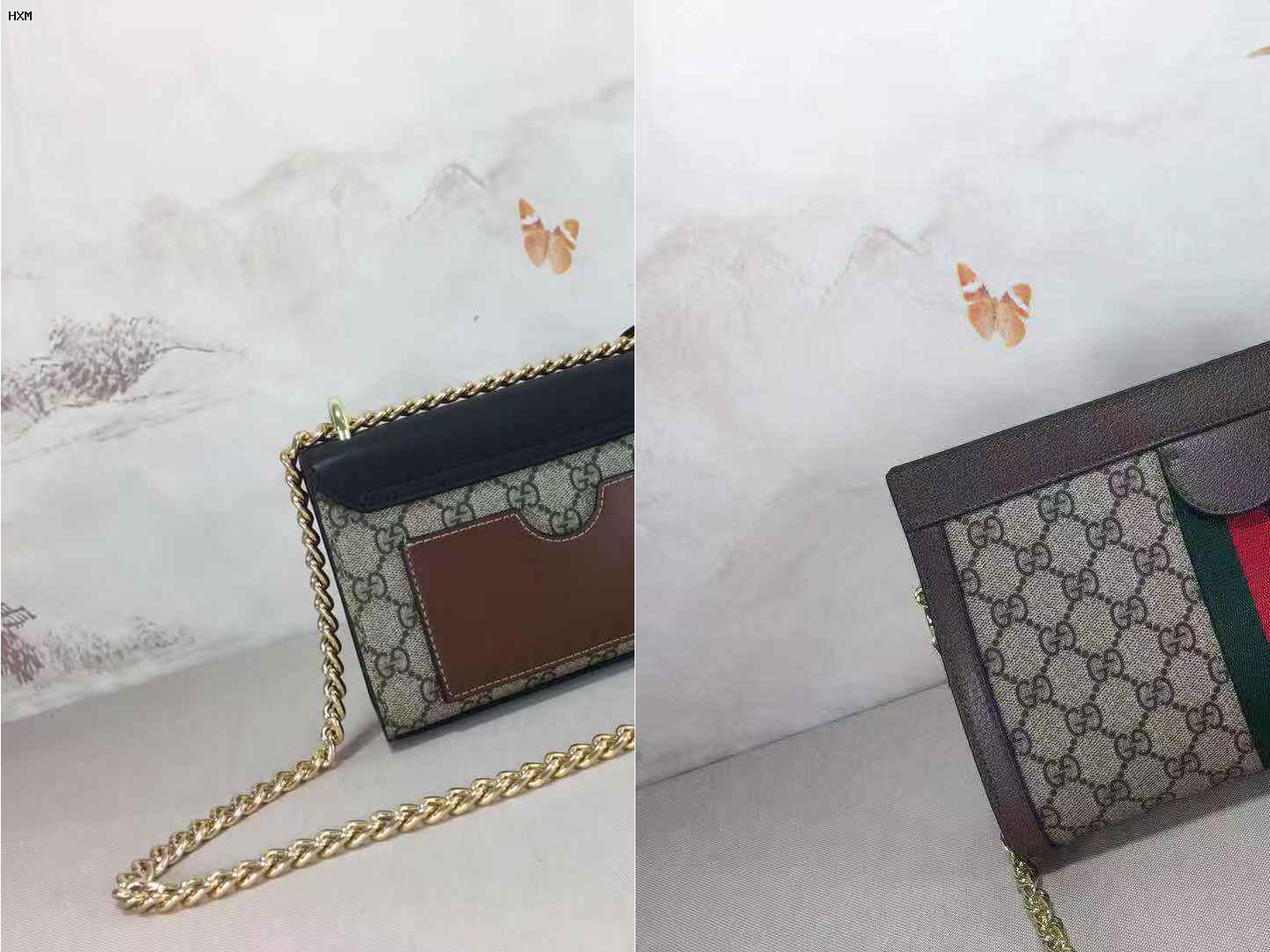sac gucci avec papillon